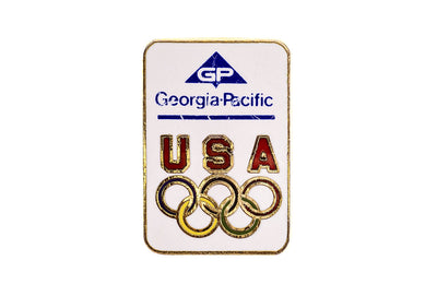 Vintage Georgia-Pacific Olympic Pin