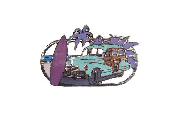 Vintage Beach Day Pin