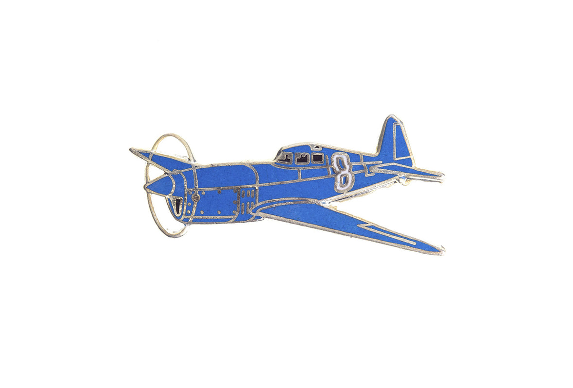 Vintage Fighter Plane 1 Pin