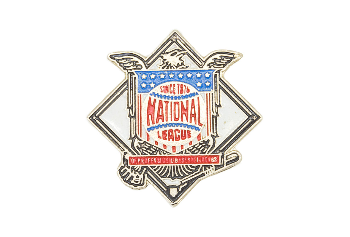 Vintage National League Pin
