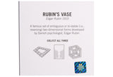 Optical Illusions - Rubin Vase Pin