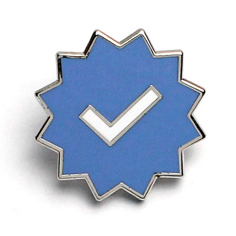 Verified Checkmark Pin