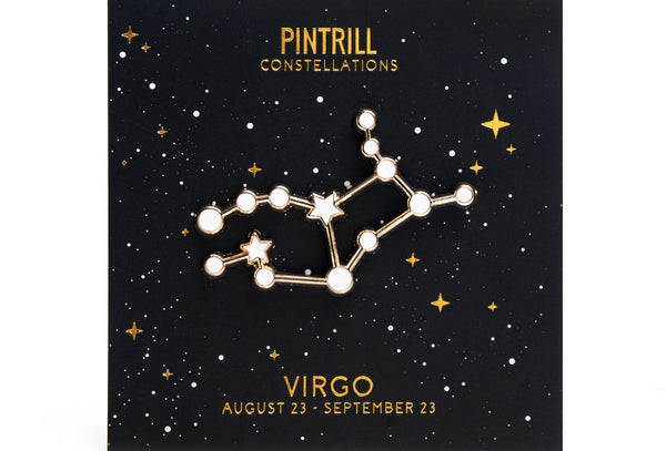 Constellations - Virgo Pin