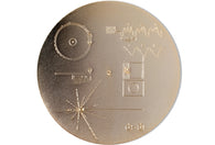 Duane King - Voyager Golden Record Pin