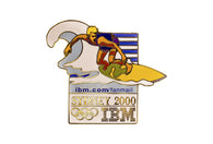 Vintage Olympic IBM Pin