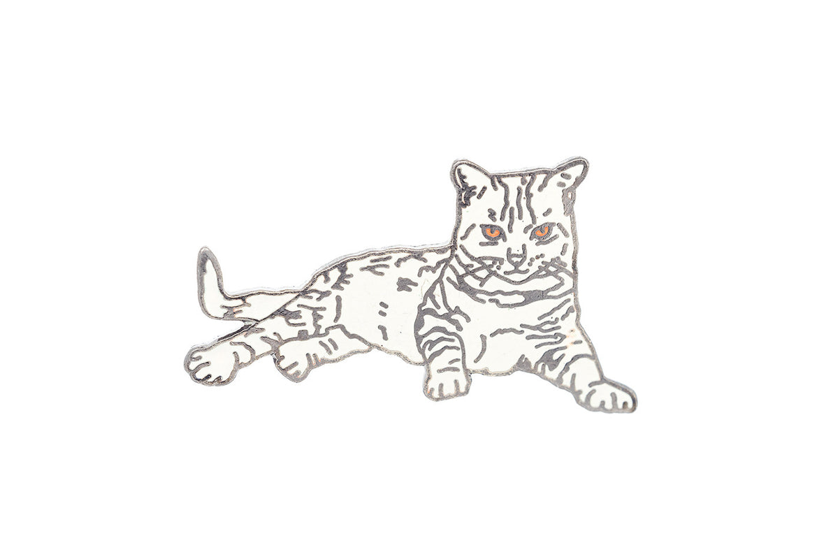 Vintage Ocicat Cat Pin