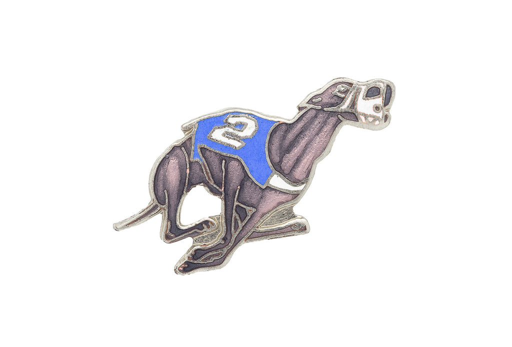 Vintage Greyhound Racing Pin
