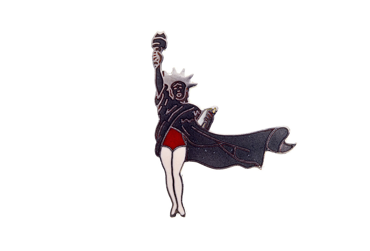 Vintage Lady Liberty 2 Pin