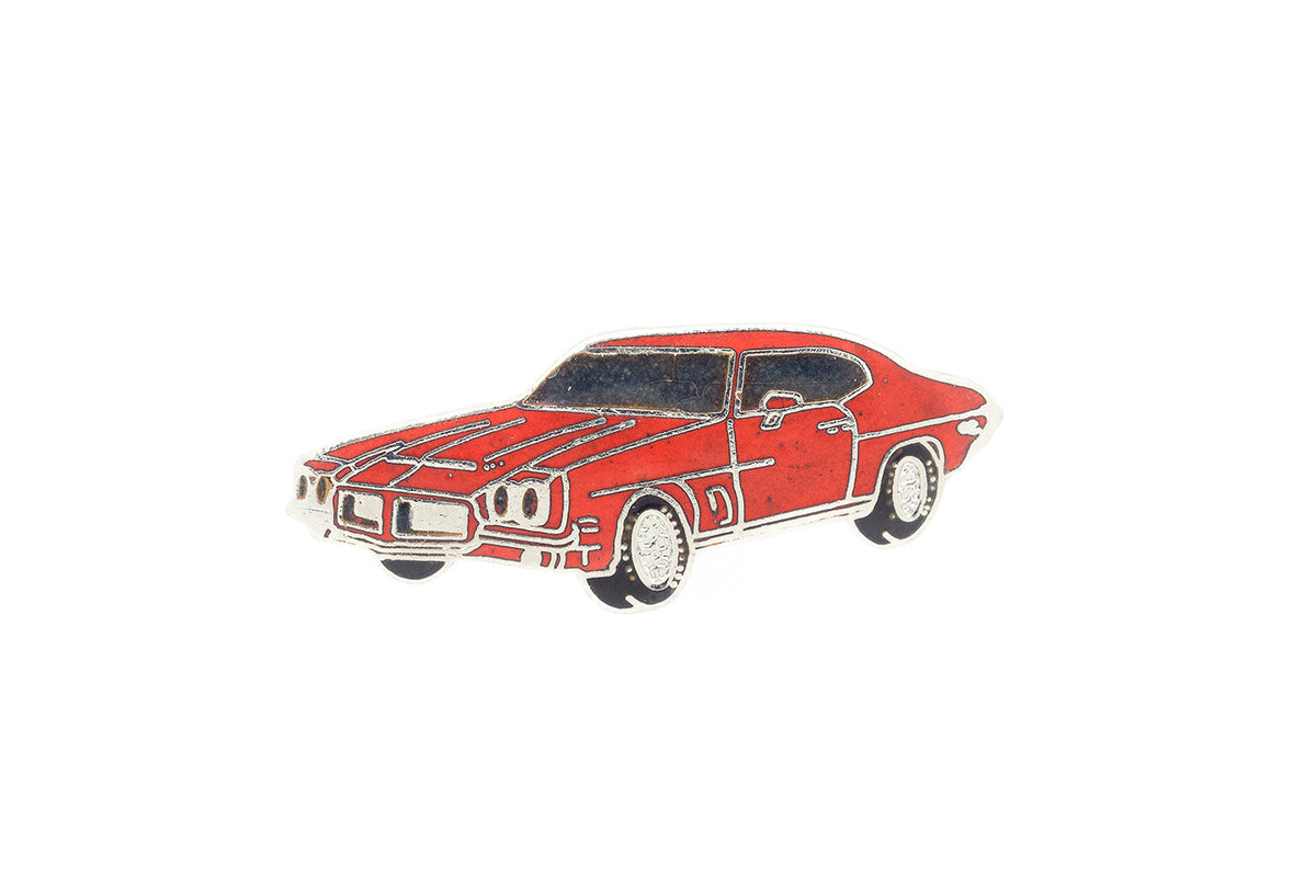 Vintage Red Pontiac Trans Am Pin – PINTRILL