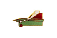 Vintage Billiards Pin