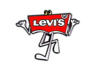 Levi's - Walking Logo Pin