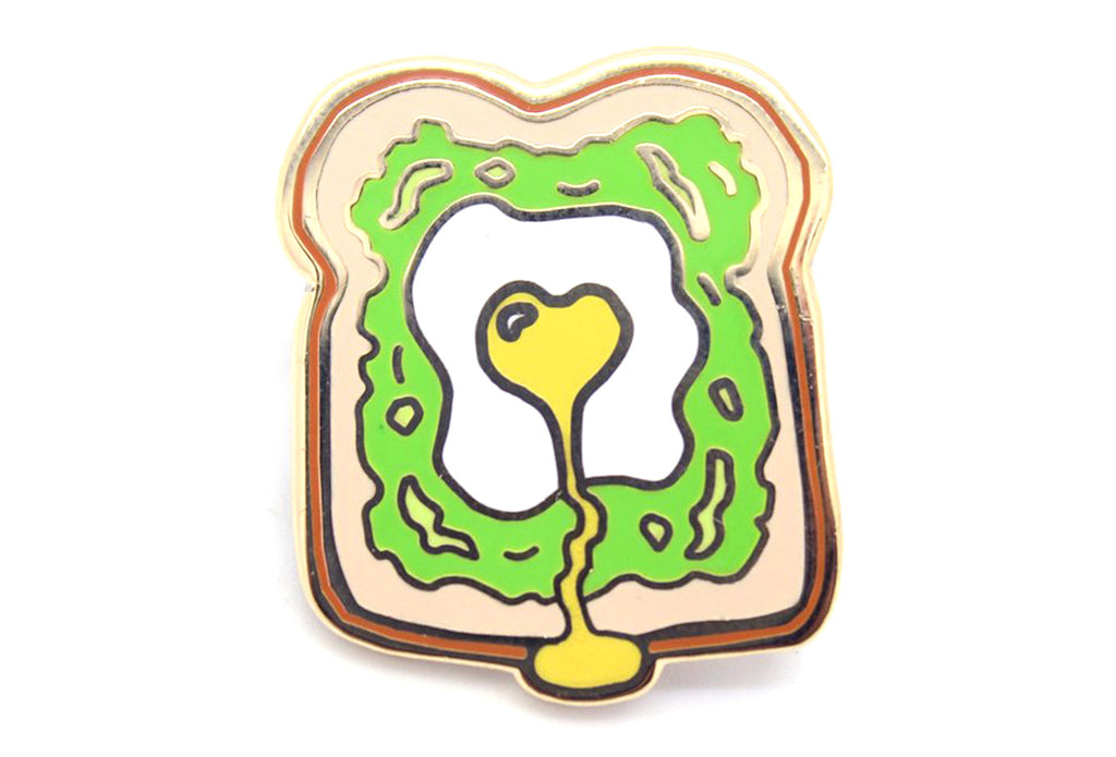 Avocado Toast Pin