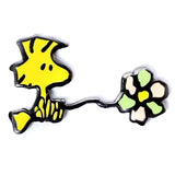 Peanuts - Woodstock with Flower Pin