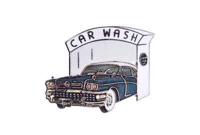 Vintage Car Wash Pin