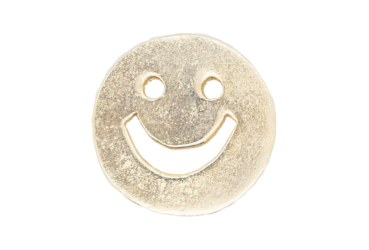 Vintage Smiley Face Pin