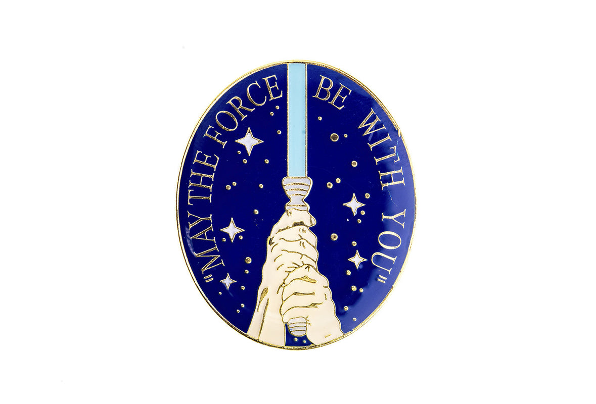 Vintage May the Force Be with You Pin