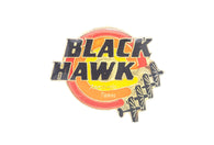 Vintage Black Hawk Pin
