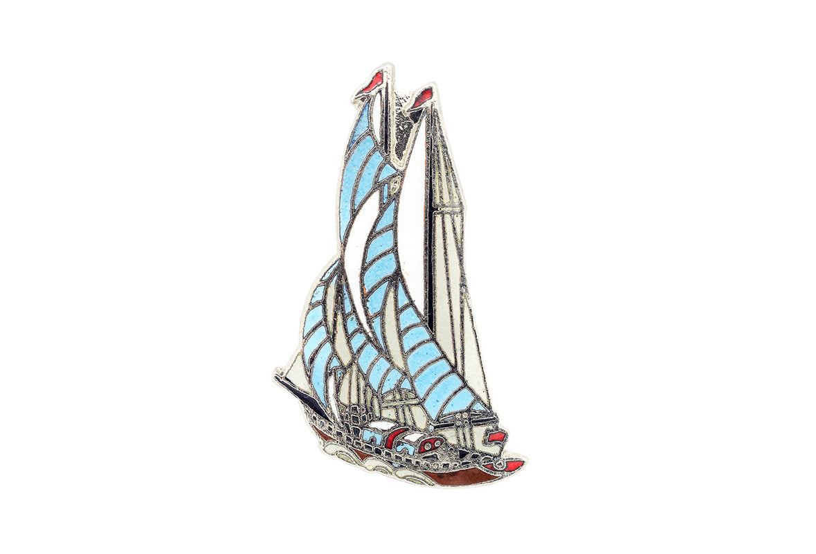 Vintage Sailboat Pin