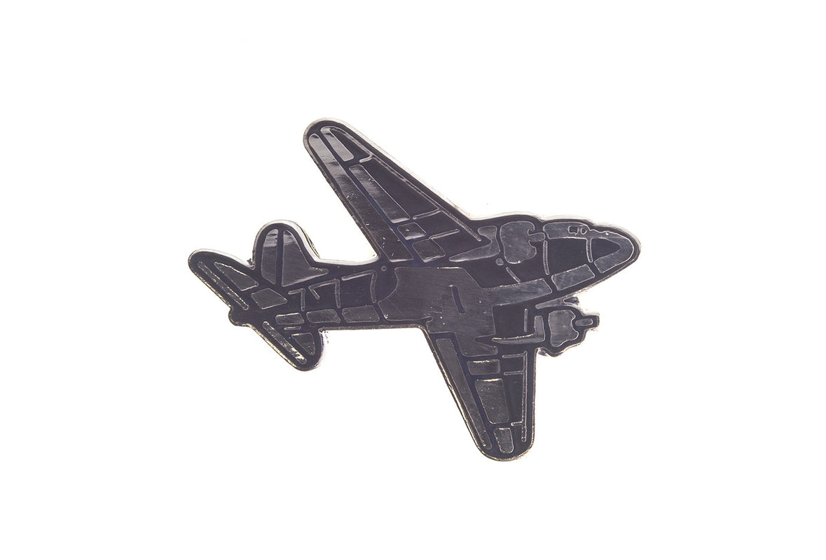 Vintage Fighter Plane 3 Pin