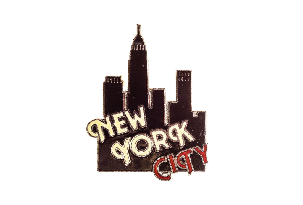 Vintage New York City Pin