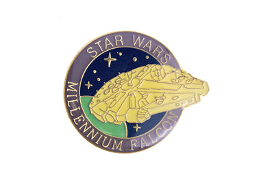 Vintage Star Wars Millennium Falcon Pin