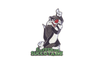 Vintage Sylvester the Cat 2 Pin