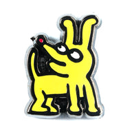 Keith Haring DOGS - Tiny Pin