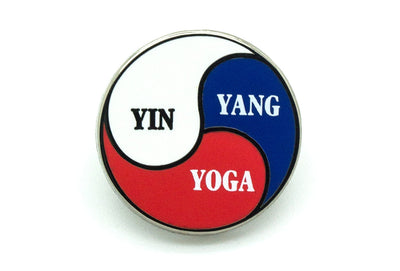 Bismuth - Yin Yang Yoga Pin