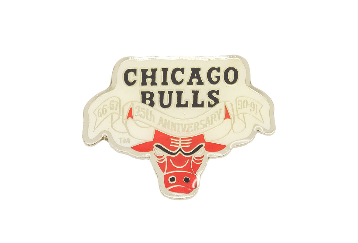 Vintage Chicago Bulls Logo 1 Pin