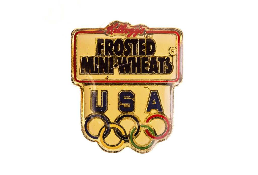 Vintage Frosted Mini Wheats Pin