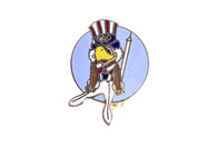 Vintage Sam the Olympic Eagle Pin