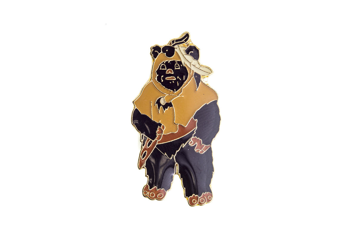 Vintage Star Wars Ewok Pin