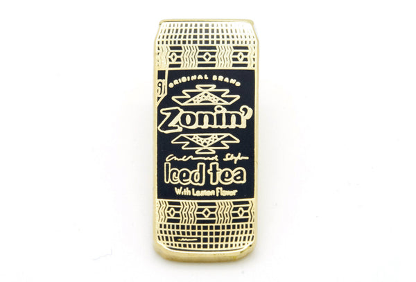 AriZona Zonin Lemon Pin - Black and Gold
