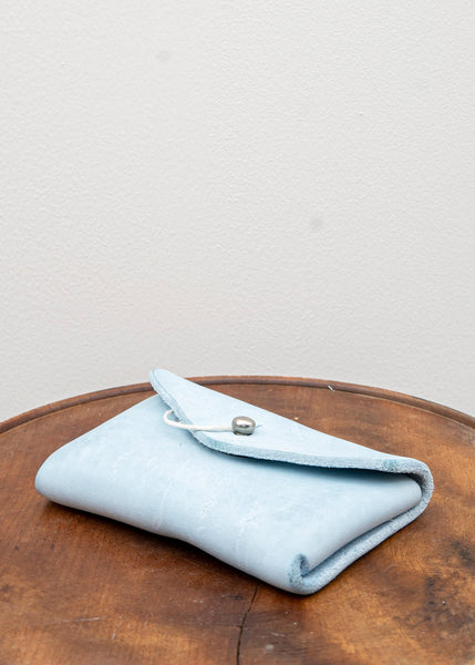 EN01 / COIN POCKET / HORSE  CULLATTA FULL GRAIN / CO77T / LIGHT BLUE