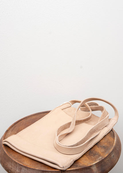 "GUIDI / ""PKT1"" PASSPORT BAG / SOFT HORSE FULL GRAIN / CO79T / NUDE"