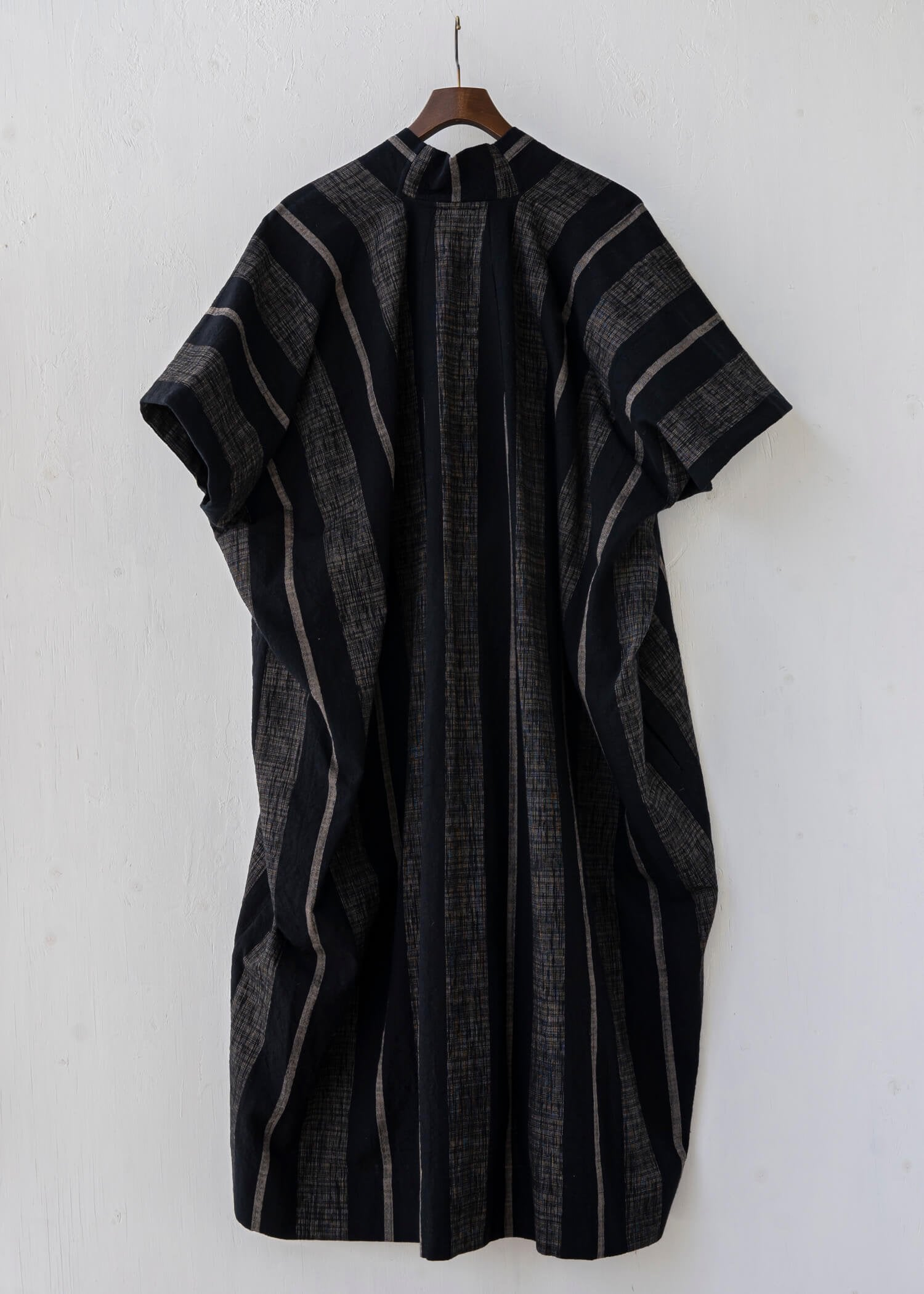 "JAN-JAN VAN ESSCHE / ""TUNIC#28"" BOLD STRIPED CLOTH"