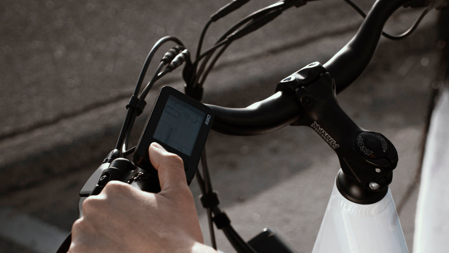 GETTING TO KNOW THE LCD DISPLAY OF YOUR EBIKE