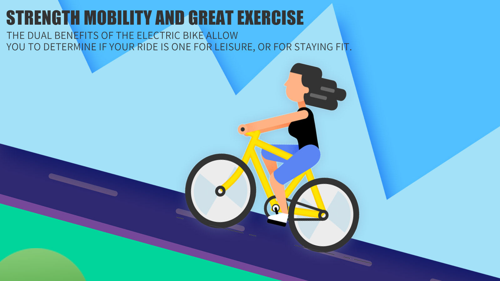 electric bike strength mobility and great exercise