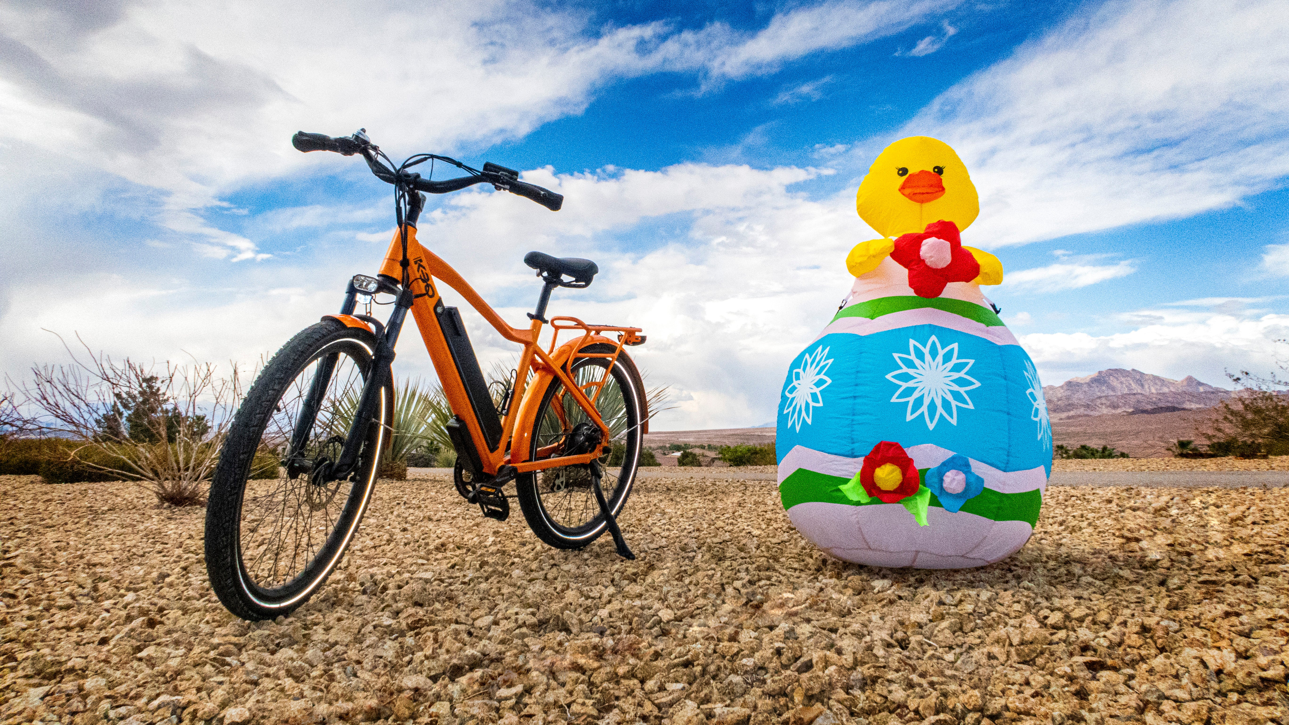 How To Celebrate Easter With a Family Biking Adventure