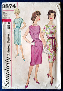 "Simplicity 3874 - 32"" bust"