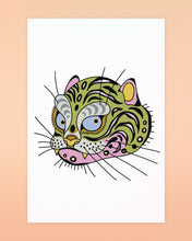 Load image into Gallery viewer, Ali Walters - Tiger Kitty Postcards 4-pack