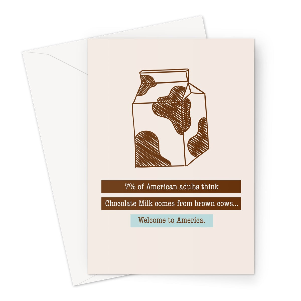 Welcome To America - Birthday Card Greeting Card