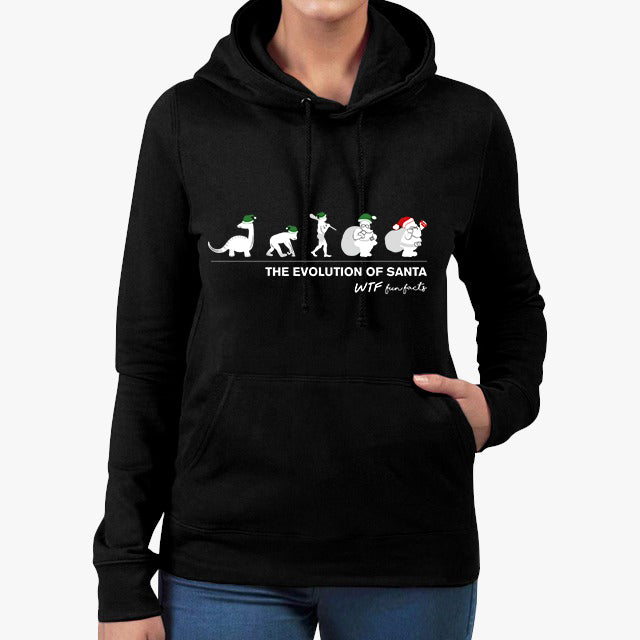 The Evolution of Santa | Hoodie | Unisex