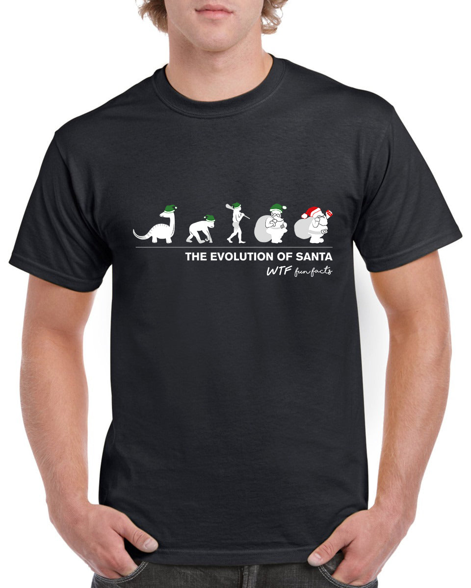 The Evolution Of Santa | T-shirt | Men's