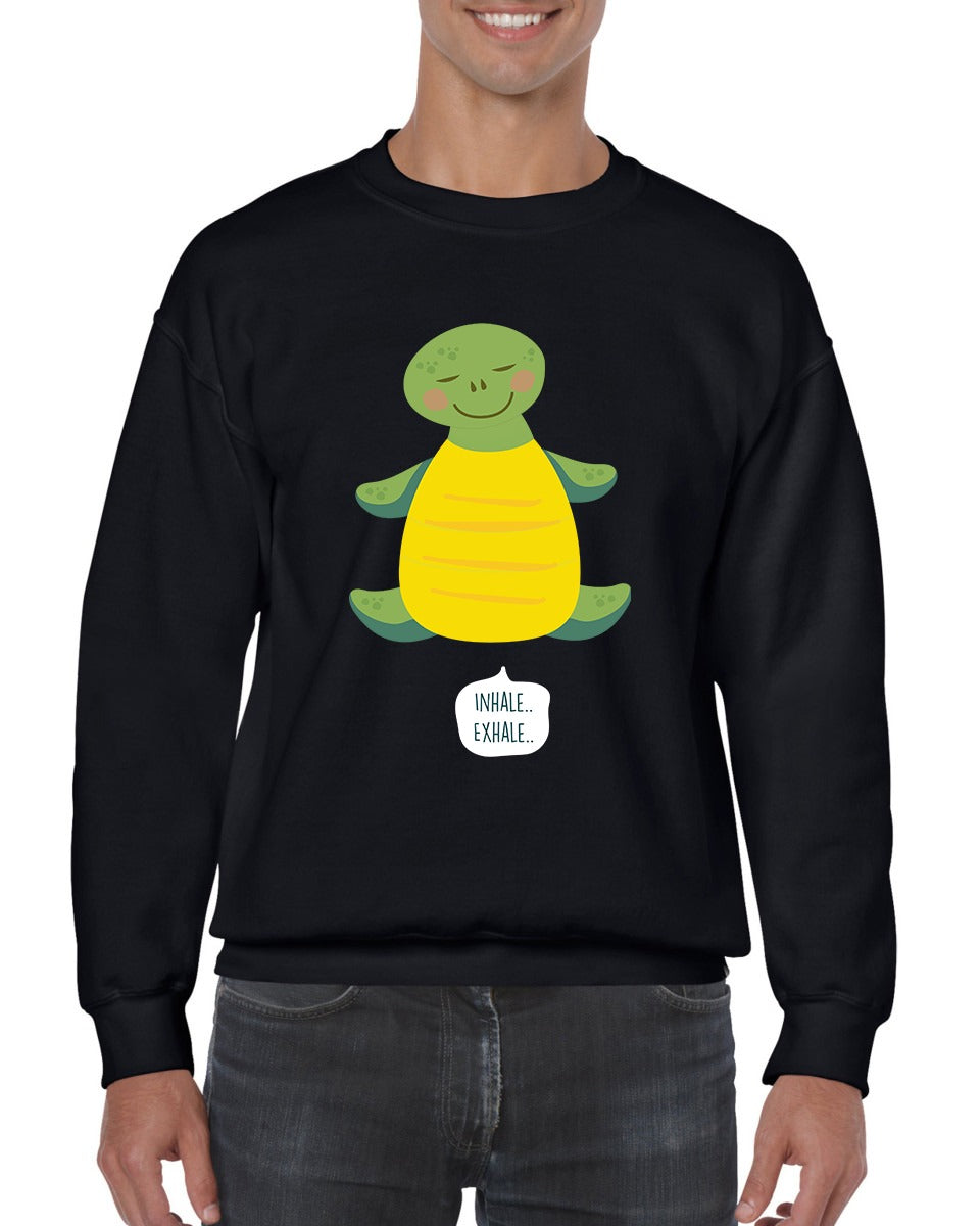 Funny | Turtle - Can Breathe Through Their Butts | Sweatshirt | Unisex