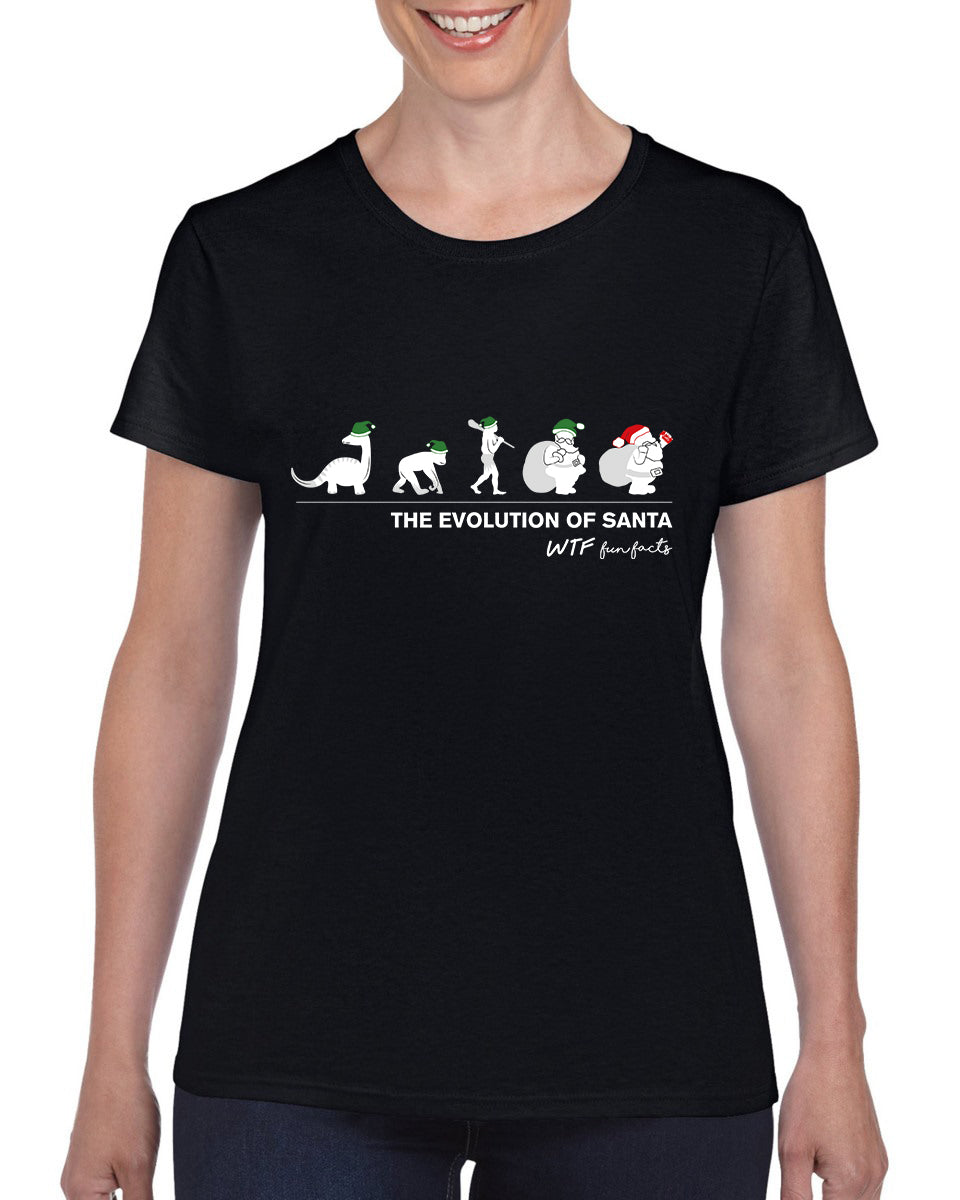 The Evolution Of Santa | T-shirt | Women's