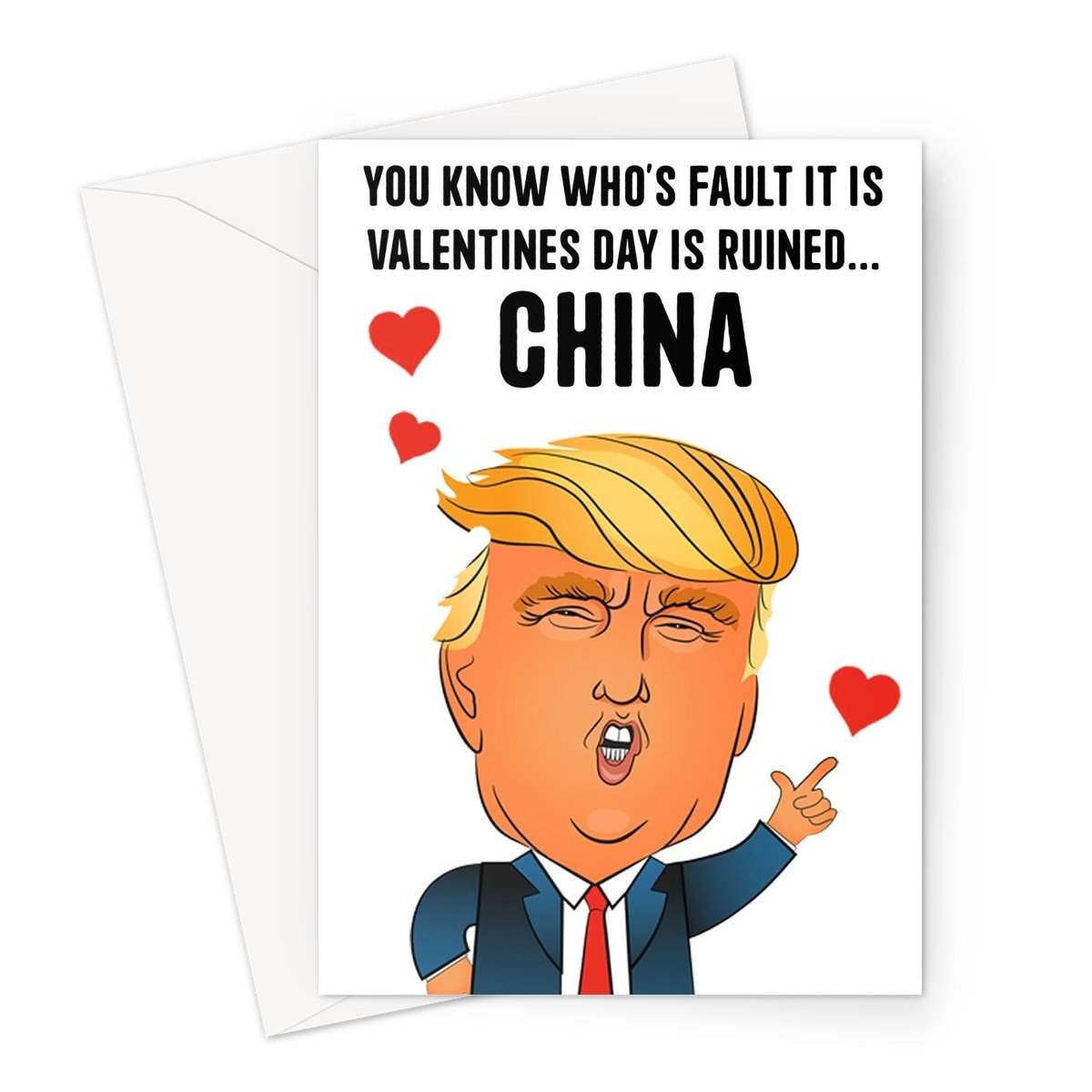 It's China Fault!! Valentine's Cards