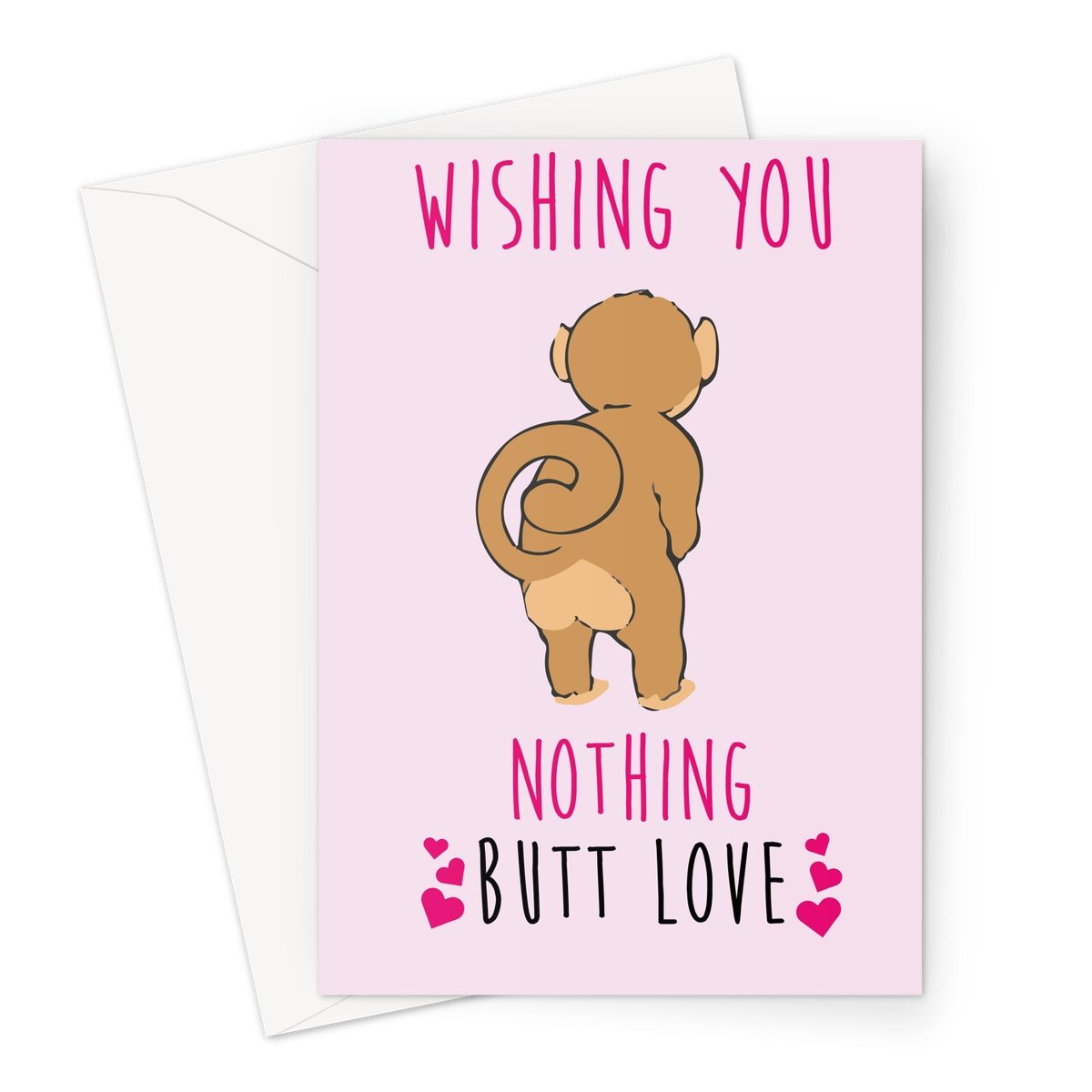 Nothing Butt Love - Valentine's Day Card