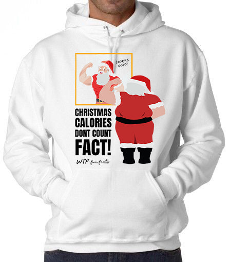 Funny | Christmas calories don't count... Fact | Hoodie | Unisex