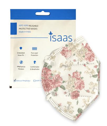 Single N95 Printed Mask - Isaas